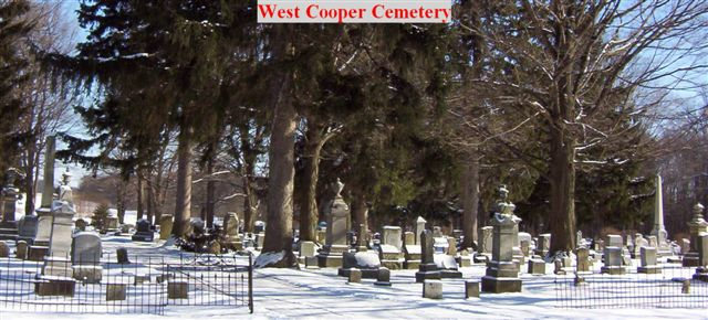 West Cooper Cemetery Entrance