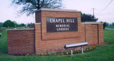 Chapel Hill Memorial Gardens Cemetery Headstones Grand Rapids Kent County Michigan