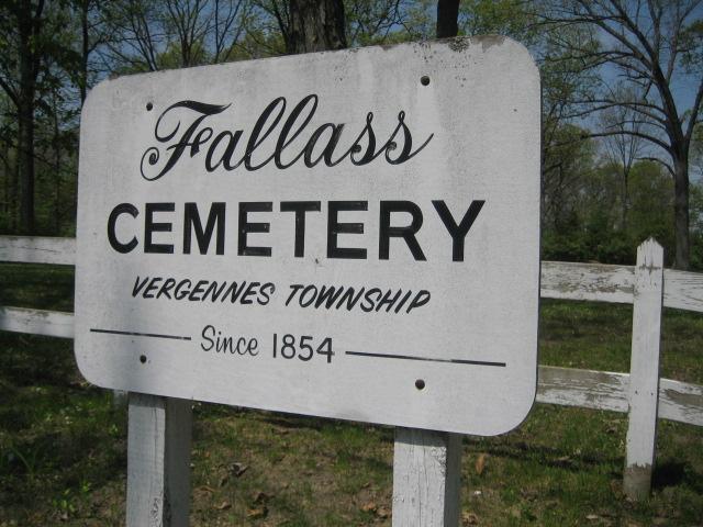 Fallass Cemetery Sign