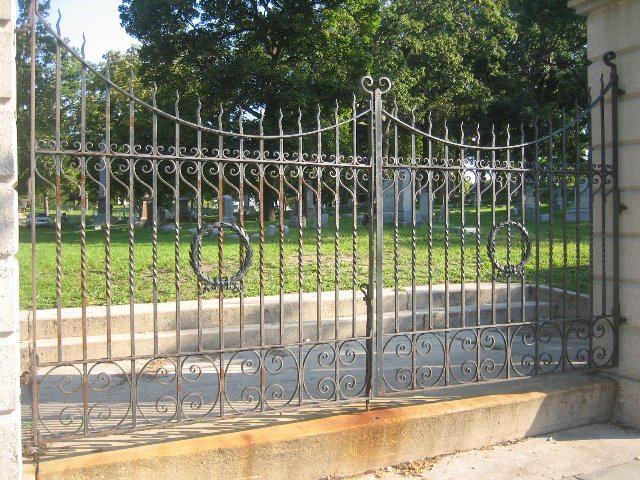Fulton Street Cemetery Entrance