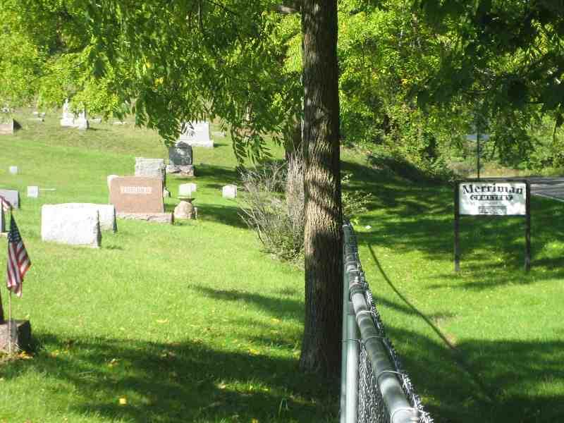 Merriman Cemetery Sign