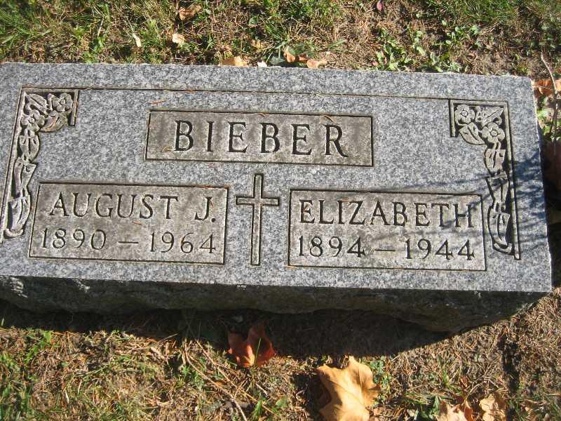 St Sebastians Catholic Cemetery Headstones Byron Township Kent