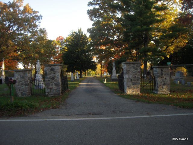 Mount Loretto Catholic Cemetery Entrance