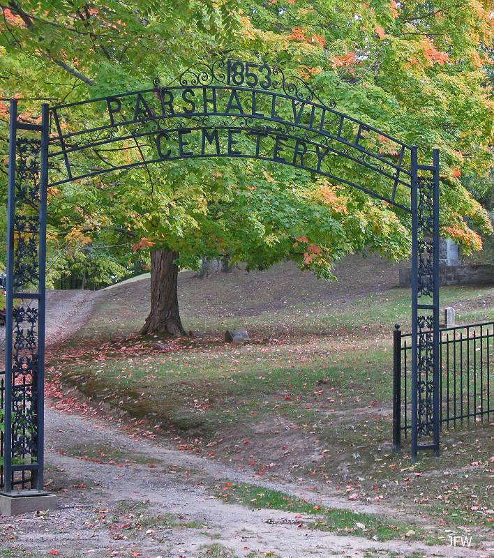 Parshallville Cemetery Entrance