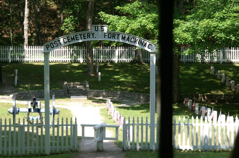 U.S. Post Cemetery entrance
