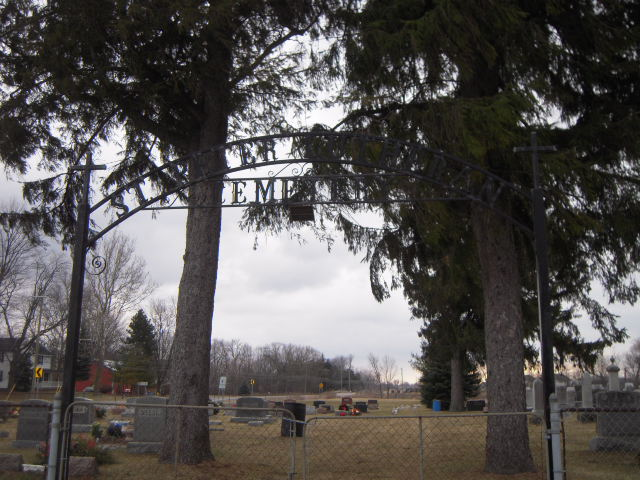 St. Peter's Lutheran Church Cemetery entrance