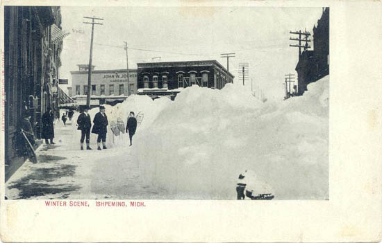 Penny Postcards From Marquette County Michigan