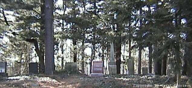 Keeney Cemetery Entrance