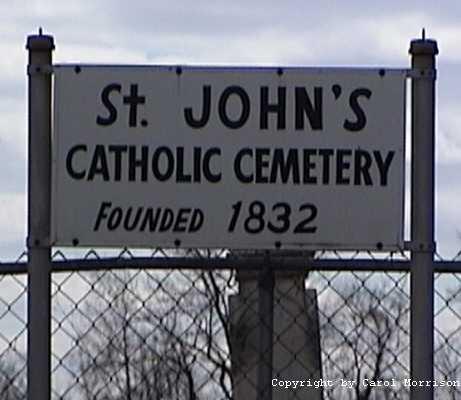 St John's Cemetery Entrance