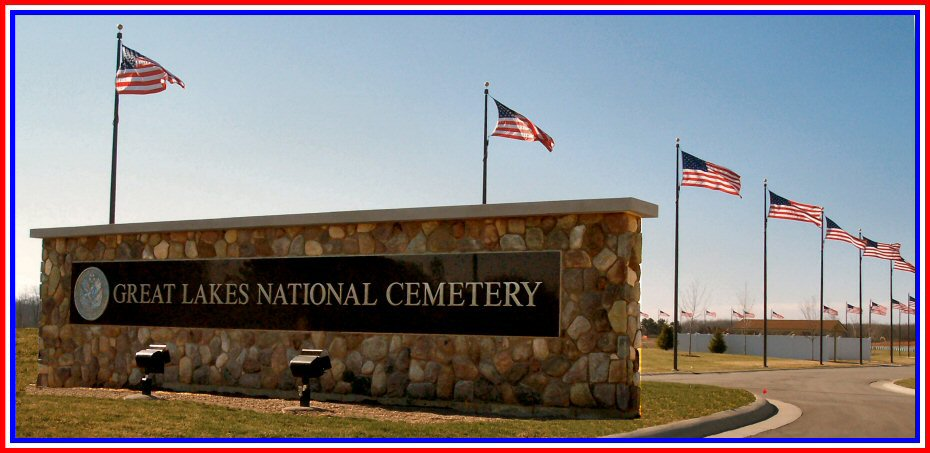 Great Lakes National Cemetery Entrance