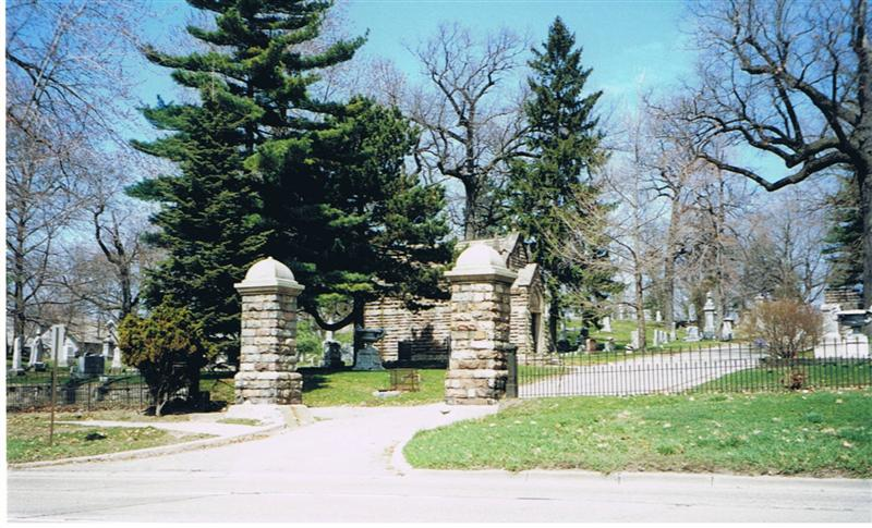 Oak Hill Cemetery Entrance