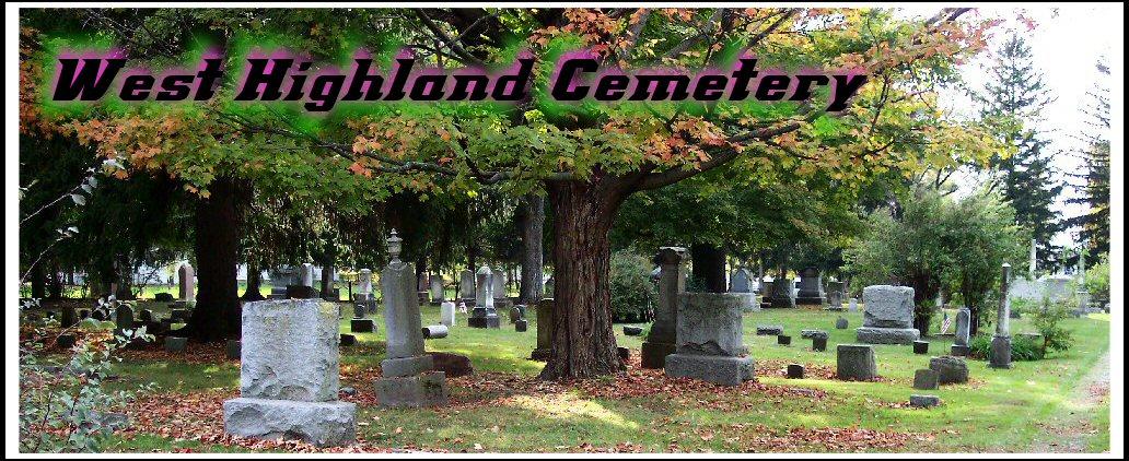 West Highland Cemetery Entrance