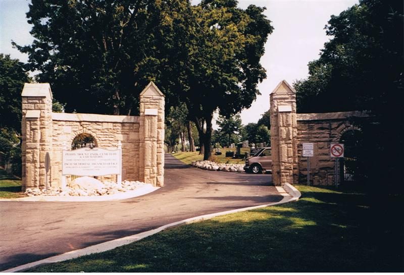 Perry Mount Park Cemetery Entrance