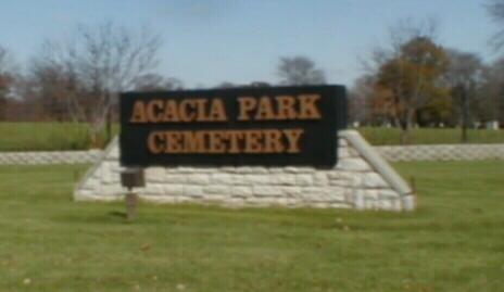 Acacia Cemetery Entrance