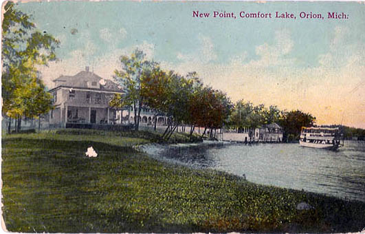 Penny Postcards From Oakland County Michigan