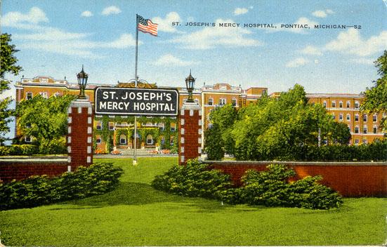 St Joseph Mercy Hospital