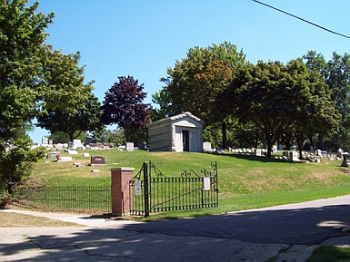 Cemetery Entrance