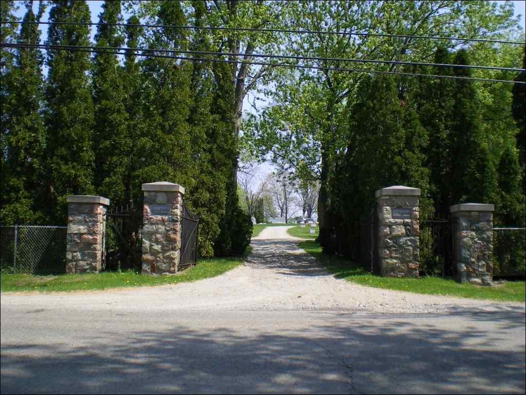 St. Paul Catholic Cemetery Entrance