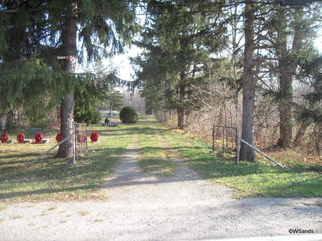 Adair Cemetery Entrance