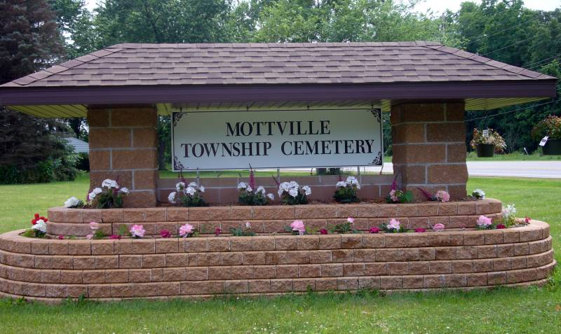 Mottville Twp. Cemetery Sign