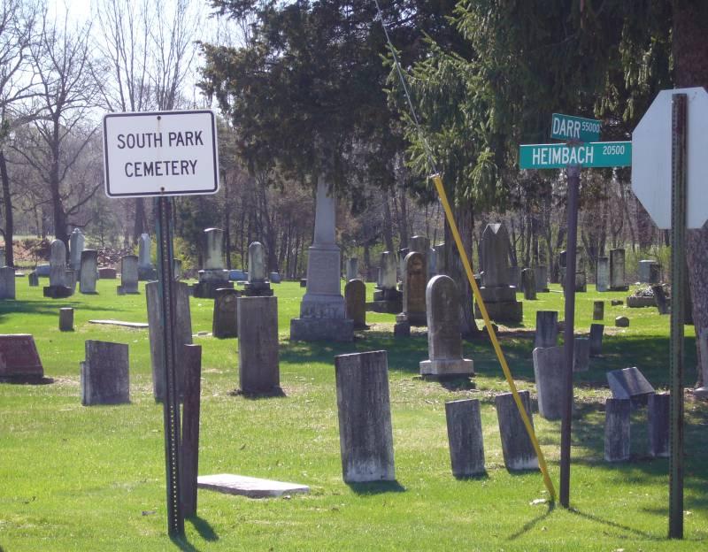 Parkville Cemetery Entrance