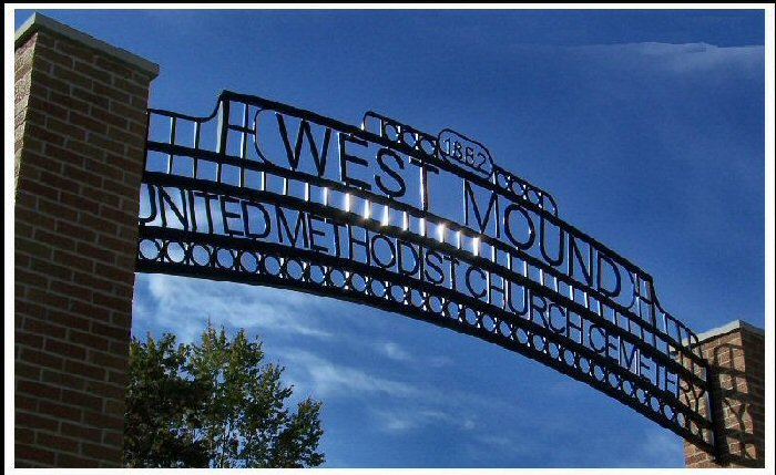 West Mound Cemetery Gate