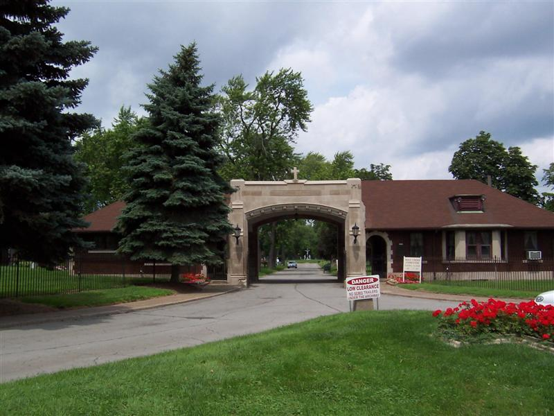 Holy Cross Cemetery Entrance