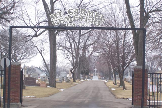 Mount Carmel Cemetery Entrance