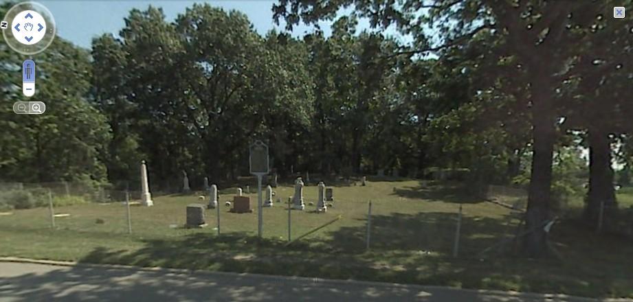 Sandhill Cemetery Overview