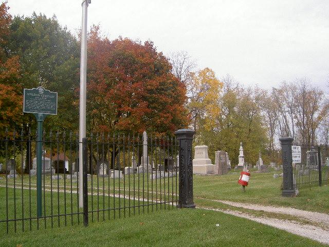 Sheldon Cemetery Entrance