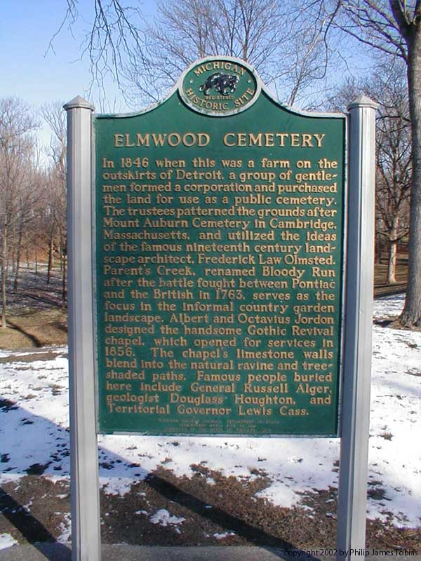Elmwood Cemetery Entrance