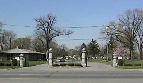 Forest Lawn Cemetery Entrance