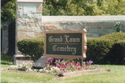 Grand Lawn Cemetery Entrance