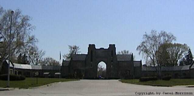 Parkview Memorial Cemetery Entrance