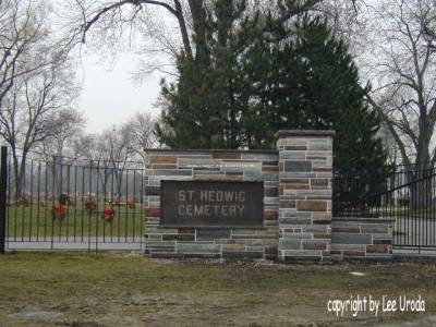 St. Hedwig Cemetery Entrance