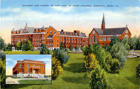 Penny Postcards from Blue Earth County, Minnesota