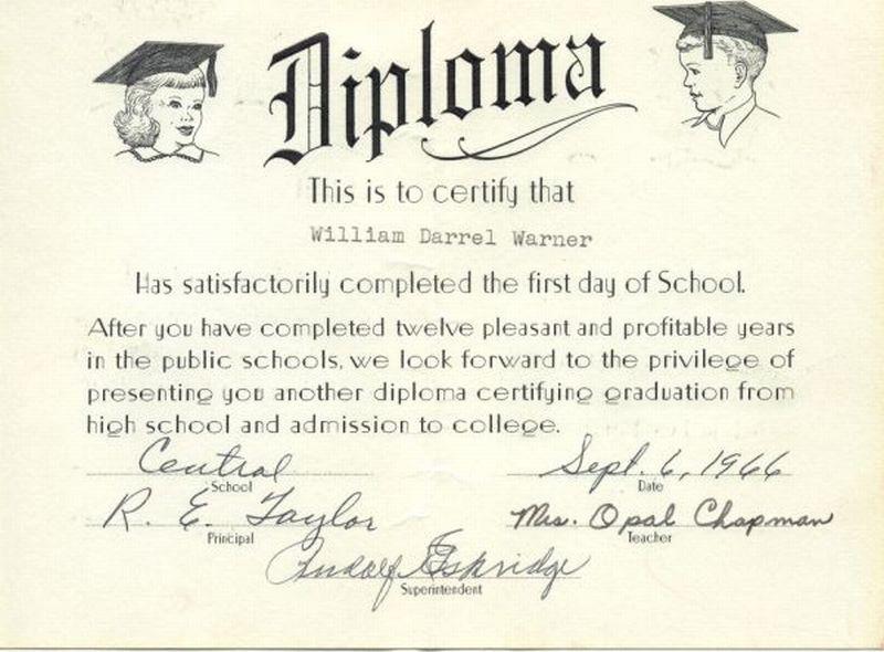 5th grade graduation certificates templates