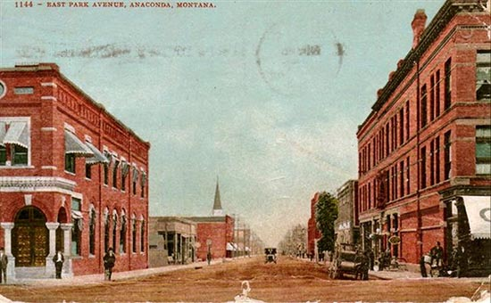 Penny Postcards From Deer Lodge County Montana