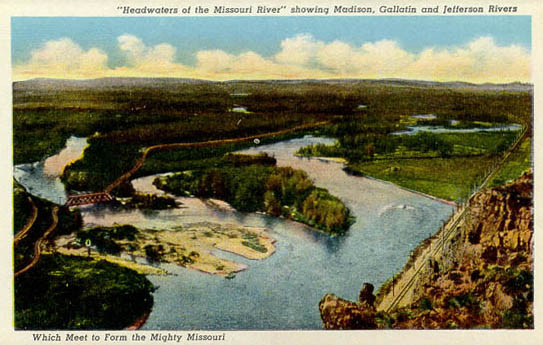 Penny Postcards from Gallatin County, Montana