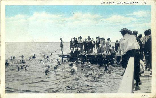Bathing At Lake Waccamaw