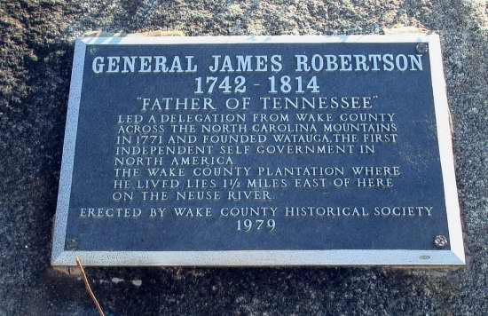 Robertson General James