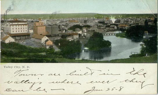 Penny Postcards from Barnes County, North Dakota