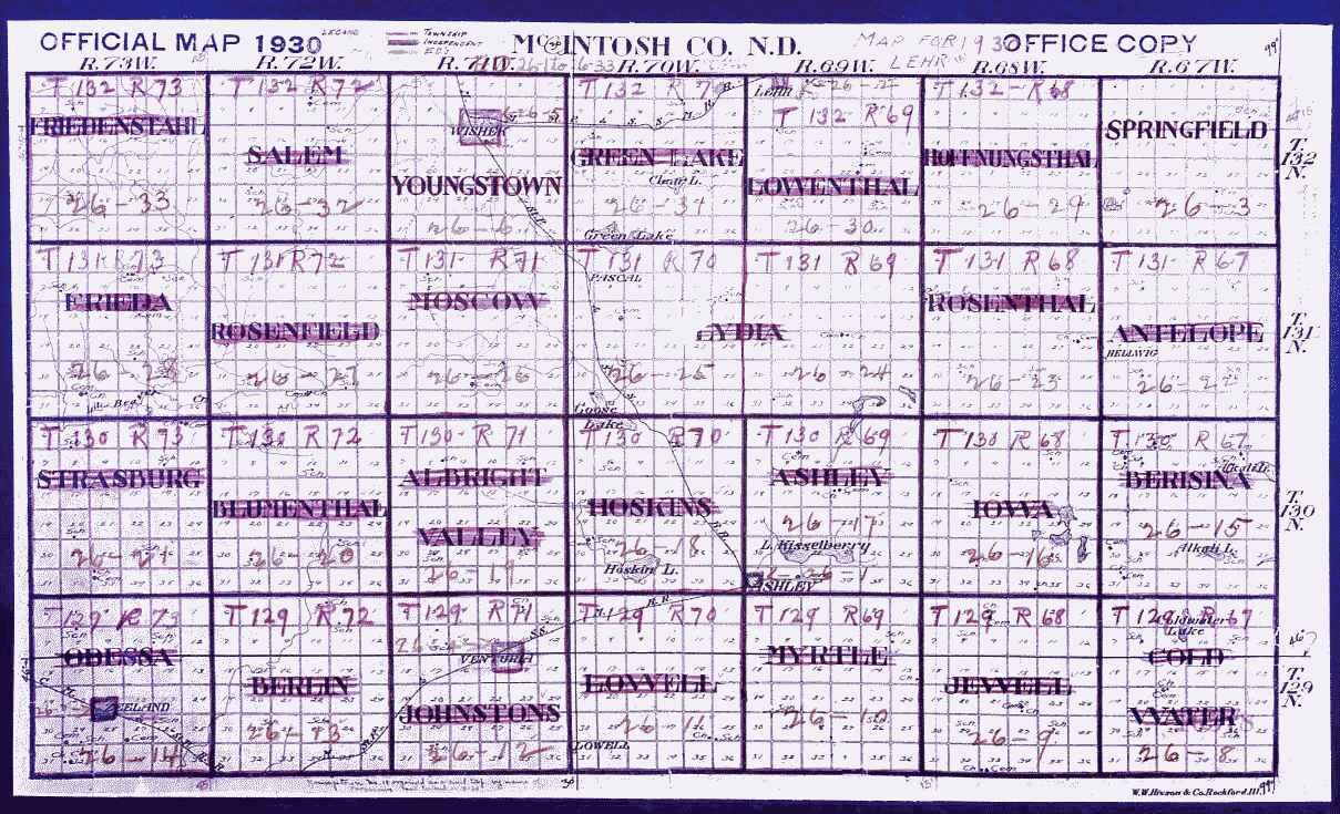 1930 townshipcensus map