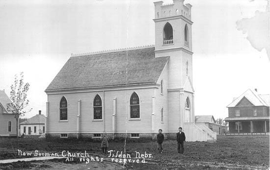 New German Church, Tilden