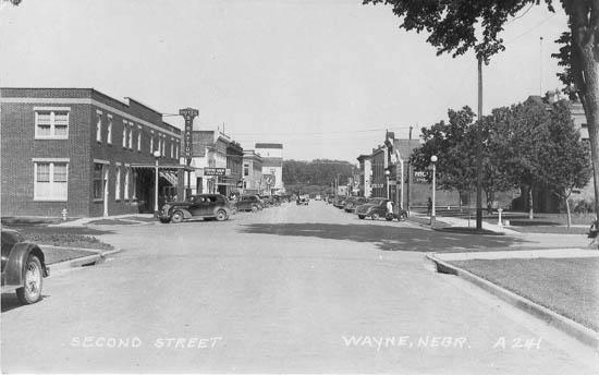 Arnies Wayne Ne >> Penny Postcards from Wayne County, Nebraska
