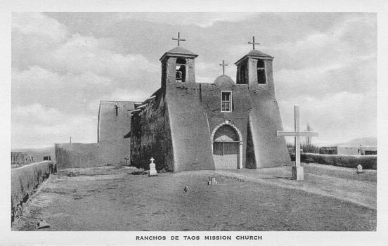 penny postcards from taos county  new mexico
