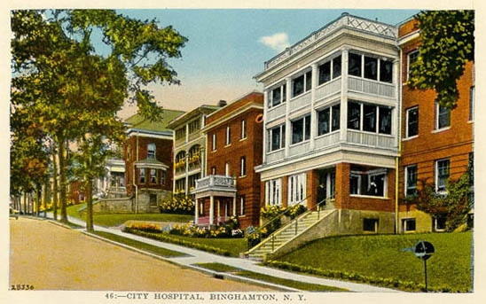 Penny Postcards from Broome County, New York