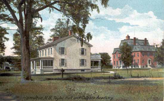 Taylor Hall and Colgate Academy, Hamilton