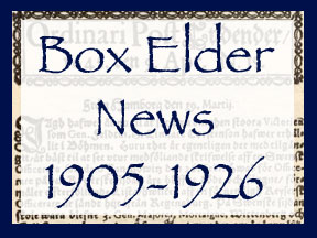 Box Elder News