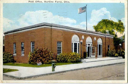 Image result for Martins Ferry Post Office martins ferry ohio